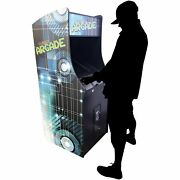 2 Player Stand Up Full Size | 412 Games | 19.5 Classic Video Game Arcade | Trac