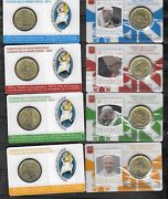 Vatican 2016 Year Of Mercy Pope Francis Official 50 Cents Stamp-coin Card Set