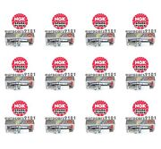 Set Of 12 Fiat 500 Ngk Spark Plugs 7563 101905606a
