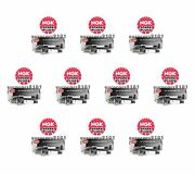 Set Of 10 Fiat Ngk Spark Plugs 4983 Sp070500aa