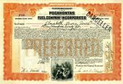 Pocahontas Fuel Company Incorporated - Stock Certificate