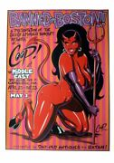 Coop - 1998 - Banned In Boston Art Show Poster @ Middle East, Cambridge Ma