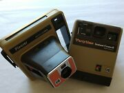 Lot Of 2 Vintage Kodak Instant Cameras Pleaser And Partytime Made In Usa 1970s