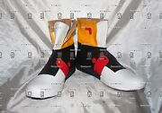 Pocket Monsters Gold And Silver Trainer Ethan Hibiki Cosplay Shoes Boots C006