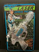 Star Wars Laser Space Pistol Weina Vintage 1980s Very Rare Sealed Carded