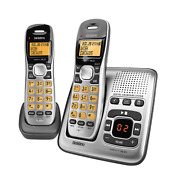 Uniden Dect 6.0 Digital Technology Cordless Phone System With Extra Handset And Ch