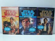 Star Wars The Han Solo Trilogy Paradise Snare, Hutt Gambit,rebel Dawn, Vol.1,2,3