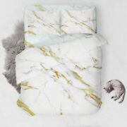 Gold Marble Stand 3d Printing Duvet Quilt Doona Covers Pillow Case Bedding Sets