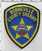 Bonneville County Sheriffs Dept Idaho 2nd Issue Uniform Takeoff Shoulder Patch
