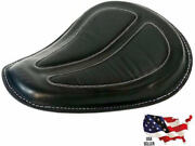 Leather Solo Spring Saddle Seat Harley Davidson Dyna Low Rider S Street Fat Bob