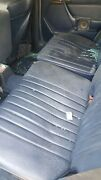 1987 Mercedes 300td Turbo Diesel Left And Right Rear Middle Seats Blue W124