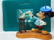 Disney Wdcc 10th Anniversary Mickey Mouse Creating A Classic Figure Ornament