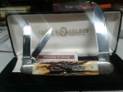 Case Xx Case Select 6391wh Red Stag Whittler Pocket Knife Nib