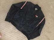 Harley Davidson Menand039s Windbreaker Jacket With Cards And Checkered Flags Patch S M