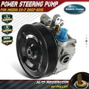 Power Steering Pump With Pulley For Mazda Cx-7 L4 2.3l 2.5l 2007-2012 Eg2132600