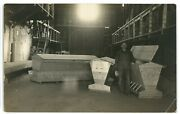 Rppc Industrial Labor Hog Feeder Factory Pig Agriculture Mn Real Photo Postcard