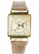 Movado 18k Solid Gold Triple Date Moonphase Vintage Ermeto Watches