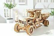 Truck Ugm-11 3d Wood Puzzles For Adults Wooden Mechanical Model Kit Build Ugears