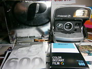 Polaroid P 600 All Inclusive Instant Camera +ready To Shoot Package / Mint -