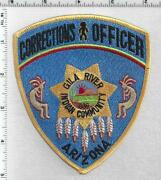 Gila River Indian Community Corrections Arizona 1st Issue Shoulder Patch