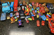Disney Cars Diecast Lot Huge Plastic, Bigger Size And Small