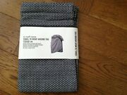 The Organic Company Towel To Wrap Around You In Dark Grey - Large