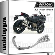 Homcat Slip-on Complete Arrow Pro-race Twin Nichrom Honda Cbr 650 R 19/20