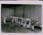 Lg780 1964 Original Bill Kuenzel Photo Bus Stop Benches Abandoned Decaying Seats