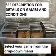 Ps2 Playstation 2 Over 60 Titles Your Choice Pick From Drop Down List Od3d