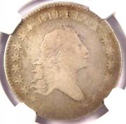 1794 Flowing Hair Bust Half Dollar 50c - Certified Ngc Vg Detail - Rare Coin