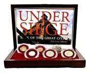 Under Siege Sack Of The Great Cities Six Coin Set In Beautiful Presentation Box