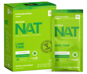 Pruvit Nat Keto//os Lime Time Charged 20 Packets New Box Sealed Exp 05/2022