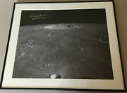 Apollo 12 Richard Dick Gordon Cmp Signed Copernicus Moon Crater 16and039and039x 20and039and039andnbsp