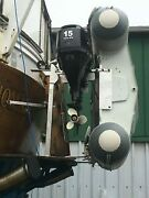 Sidewinder Dinghy And Outboard Hoist