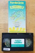 Family Circle Storyland Theater Volume 1 1987 - Vhs Tape Movie - Childrenand039s