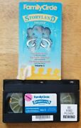 Family Circle Storyland Theater Volume 3 1987 - Vhs Tape Movie - Childrenand039s