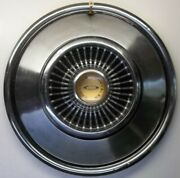 1966 Chrysler 300 Hubcap 14 Inch Wheel Cover Vintage Stainless Steel
