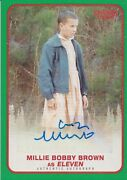Stranger Things Season 1 Millie Bobby Brown Eleven Autograph Card A-11 03/50