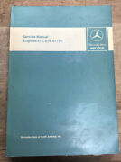 Used Mercedes-benz Service Manual Engines 615 616 617.91.