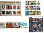 Authentic And Topical Stamp Collector Sheet Sheets-nature Hollywood Christmas
