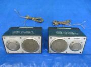 Pioneer Ts-x9 Car Speaker Type 2 Way Tested Working Good F/s