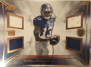 2014 Topps Prime Odell Beckham Jr Quad Jersey Relic Copper 29/99 Rc Giants🔥