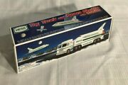1999 Hess Toy Truck And Space Shuttle With Satellite-new In Original Box Andndash Nib