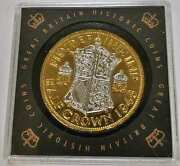 1948 Great Britain Historic Coins 1/2 Half Crown Gold Silver Gilded 20 Dr