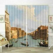 Russian House Boats 3d Curtain Blockout Photo Printing Curtains Drape Fabric