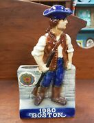 1980 Boston American Legion 62nd National Convention Porcelain Whiskey Decanter
