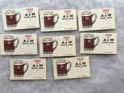 8 Vintage A And W Root Beer Free Drinks Coupons