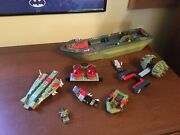 Lego Chima Craggerand039s Command Ship 70006 - With Other Gator Parts