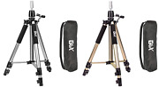 Canvas Block Head Tripod Cosmetology Training Doll Head Stand With Travel Bag