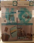 Lot Of 2 We R Memory Keepers Template Studio-candy Box Guide And File Folder Guide